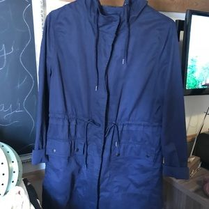 Blue old navy utility jacket